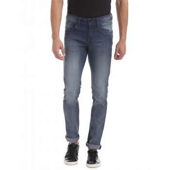 Flying Machine Casual Wear Solid  Men Jeans