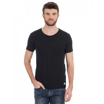 Flying Machine Men Casual Wear Solid T-Shirt