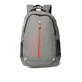 Flying Machine UniSex Grey Casual Wear Backpack