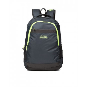 Flying Machine UniSex Navy Casual Wear Backpack