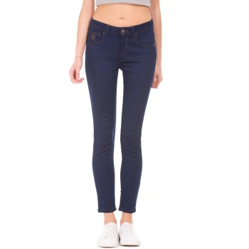 Flying Machine Women Casual Wear Solid Jeans