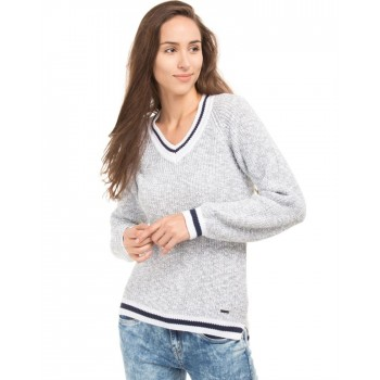 Flying Machine Women Casual Wear Solid Sweater