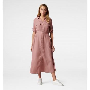 Forever New Women Casual Wear Pink Dress