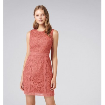 Forever New Women Party Wear Peach Dress