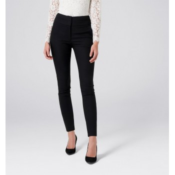Forever New Women Casual Wear Black Trouser