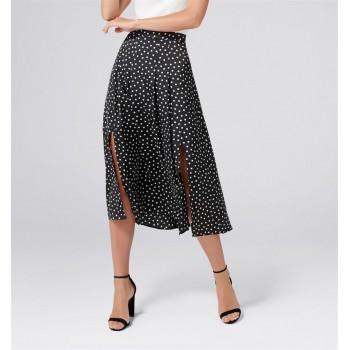 Forever New Women Casual Wear Black Skirt