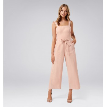 Forever New Women Party Wear Pink Jump Suit