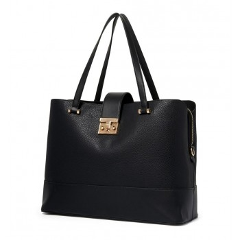 Forever New Women's Black Laptop Bag