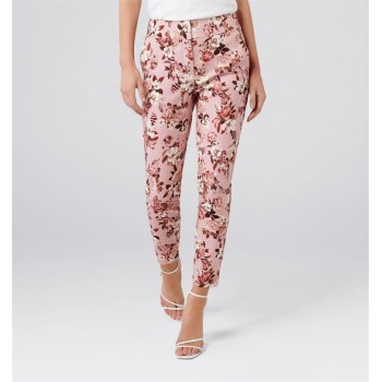 Forever New Women Casual Wear Pink Trouser