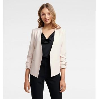 Forever New Women Casual Wear Pink Blazer