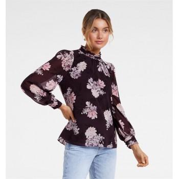 Forever New Women Casual Wear Purple Top