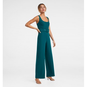 Forever New Women Party Wear Blue Jump Suit