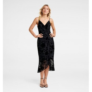 Forever New Women Party Wear Black Dress