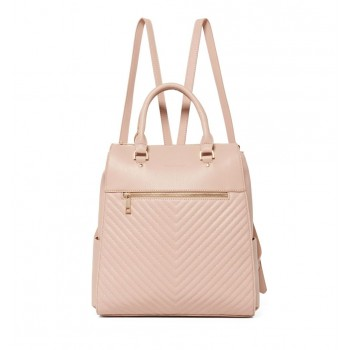 Forever New Women's Pink Laptop Backpack