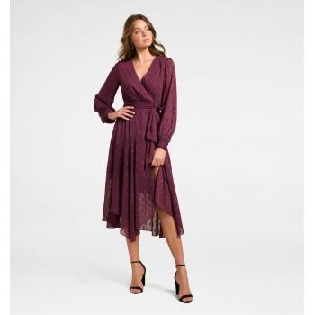 Forever New Women Party Wear Purple Dress