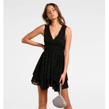 Forever New Women Casual Wear Black Dress