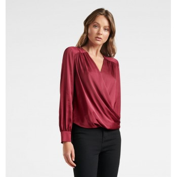 Forever New Women Casual Wear Maroon Top