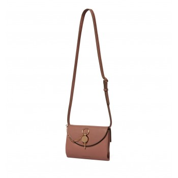 Forever New Women's Brown Crossbody Bag with Non Detachable Shoulder Strap