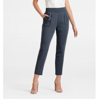 Forever New Women Casual Wear Blue Trouser