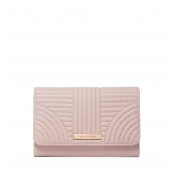 Forever New Women's Pink Fold Wallet