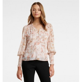 Forever New Women Casual Wear Peach Top