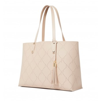 Forever New Women's Beige Shoulder Bag wit pouch