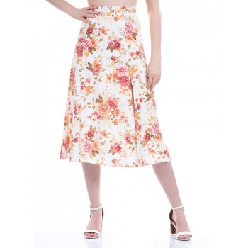 Forever New Women Casual Wear Multicolor A-Line Skirt
