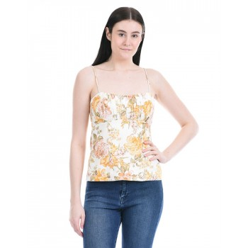 Forever New Women Party Wear Multicolor Crop Top