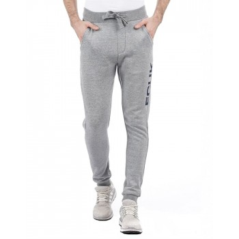 French Connection Men Casual Wear Solid Track Pant