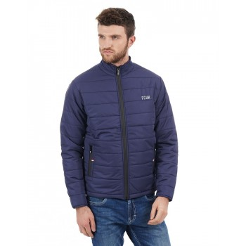 French Connection Men Casual Wear Solid Jacket