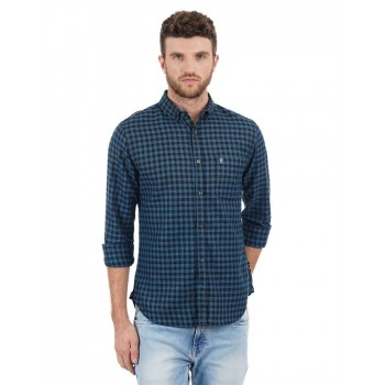 French Connection Men Casual Wear Checkered Shirt