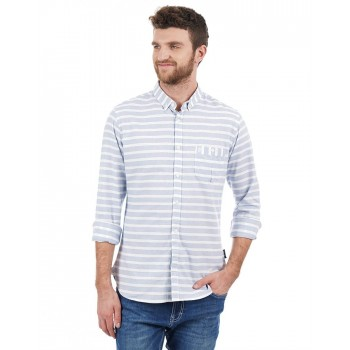 French Connection Men Casual Wear Striped Shirt
