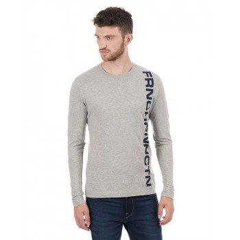 French Connection Men Casual Wear Gaphic Print T-Shirt