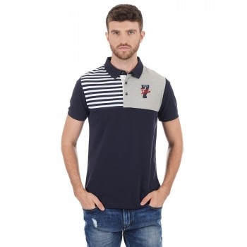 French Connection Men Casual Wear Striped T-Shirt