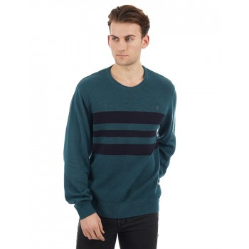 French Connection Casual Wear Striped Men Knitwear