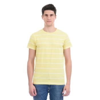 Gant Men Casual Wear Yellow T-Shirt