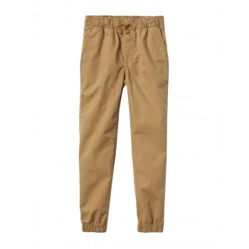GAP Boys Beige Solid Joggers