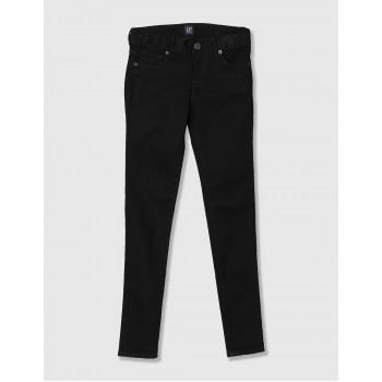 GAP Girls Black Solid Jeans