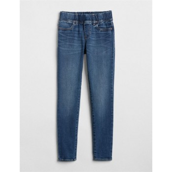 GAP Girls Blue Solid Jeans