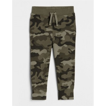 GAP Unisex Green Printed Trousers