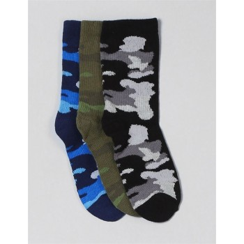 Gap Boys Assorted Woven Pack of 3 Pairs of Socks