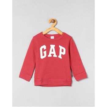 Gap Boys Red Printed Sweatshirt