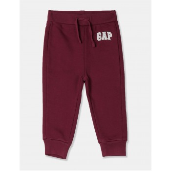 GAP Unisex Red Printed Joggers