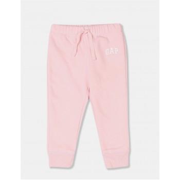 GAP Girls Pink Printed Joggers