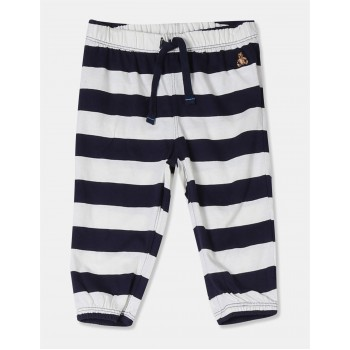 GAP Boys Blue Striped Joggers