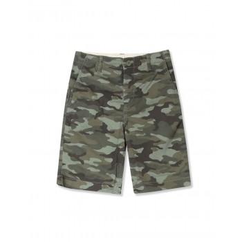 GAP Boys Green Printed Shorts