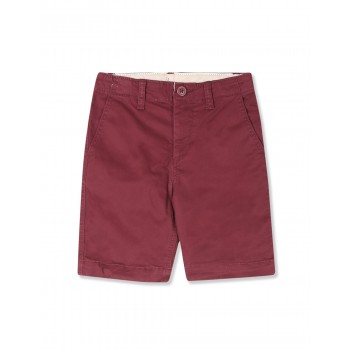 GAP Boys Red Solid Shorts