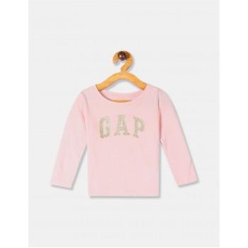 GAP Girls Pink Applique T-Shirt