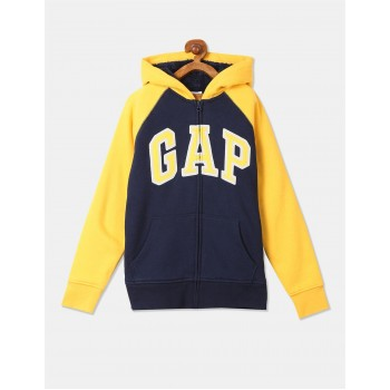 GAP Boys Blue Applique Sweatshirt