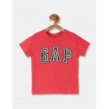GAP Boys Red Applique T-Shirt